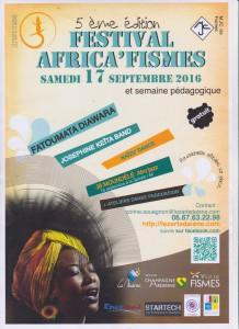 Affiche Africa Fisme